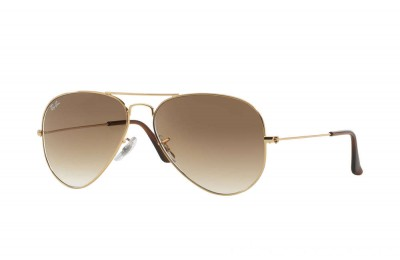 Ray-Ban AVIATOR GRADIENT - RB3025-001-51-58-14 - Ray Ban Black Friday Deal