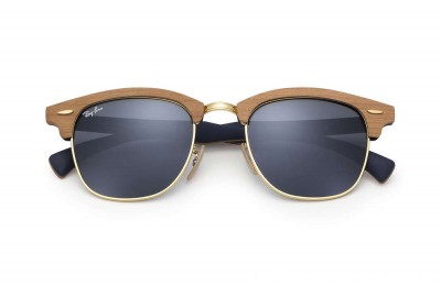 Ray-Ban CLUBMASTER WOOD - RB3016M-1180R5-51-21 - Ray Ban Black Friday Deal
