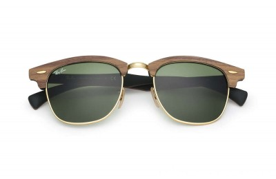 Ray-Ban CLUBMASTER WOOD - RB3016M-11824E-51-21 - Ray Ban Black Friday Deal