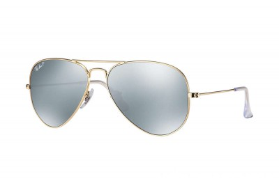 Ray-Ban AVIATOR FLASH LENSES - RB3025-112-W3-58-14 - Ray Ban Black Friday Deal