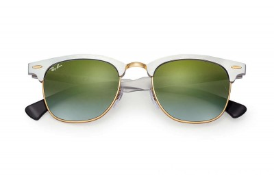 Ray-Ban CLUBMASTER ALUMINUM FLASH LENSES GRADIENT - RB3507-137-9J-49-21 - Ray Ban Black Friday Deal