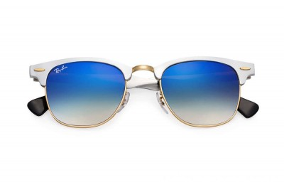 Ray-Ban CLUBMASTER ALUMINUM FLASH LENSES GRADIENT - RB3507-137-7Q-49-21 - Ray Ban Black Friday Deal