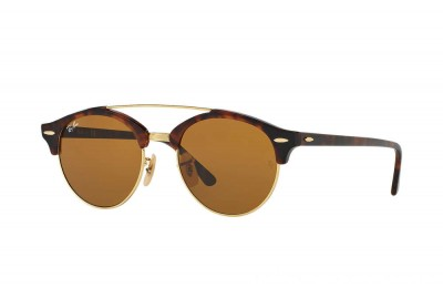 CLUBROUND DOUBLE BRIDGE - RB4346-990-33-51-19 - Ray Ban Black Friday Deal