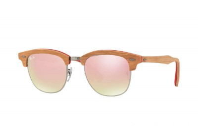 Ray-Ban CLUBMASTER WOOD - RB3016M-12197O-51-21 - Ray Ban Black Friday Deal