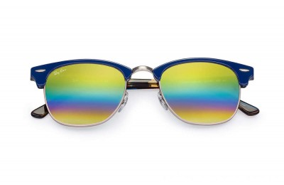 Ray-Ban CLUBMASTER MINERAL FLASH LENSES - RB3016-223C4E-49-21 - Ray Ban Black Friday Deal