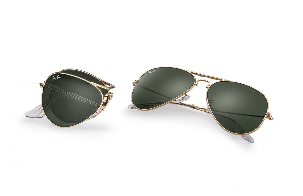 Ray-Ban AVIATOR FOLDING - RB3479-001-58-14 - Ray Ban Black Friday Deal