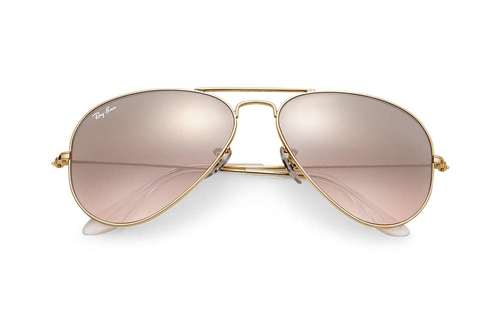 Ray-Ban AVIATOR GRADIENT - RB3025-001-3E-58-14 - Ray Ban Black Friday Deal