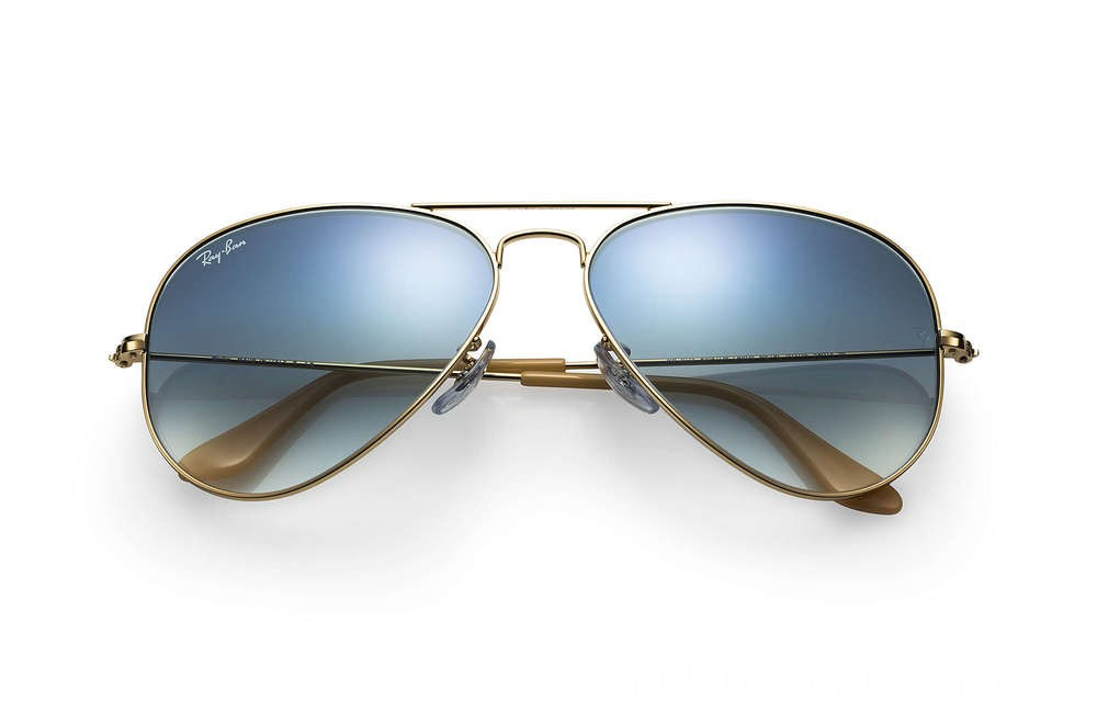 Ray-Ban AVIATOR GRADIENT - RB3025-001-3F-58-14 - Ray Ban Black Friday Deal