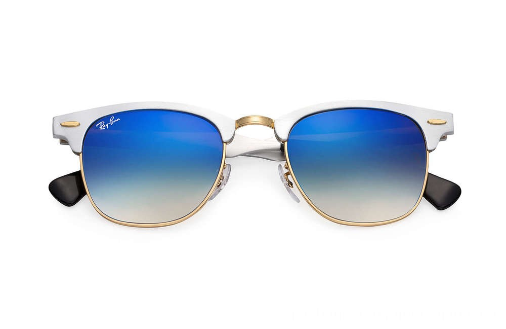 Ray-Ban CLUBMASTER ALUMINUM FLASH LENSES GRADIENT - RB3507-137-7Q-51-21 - Ray Ban Black Friday Deal
