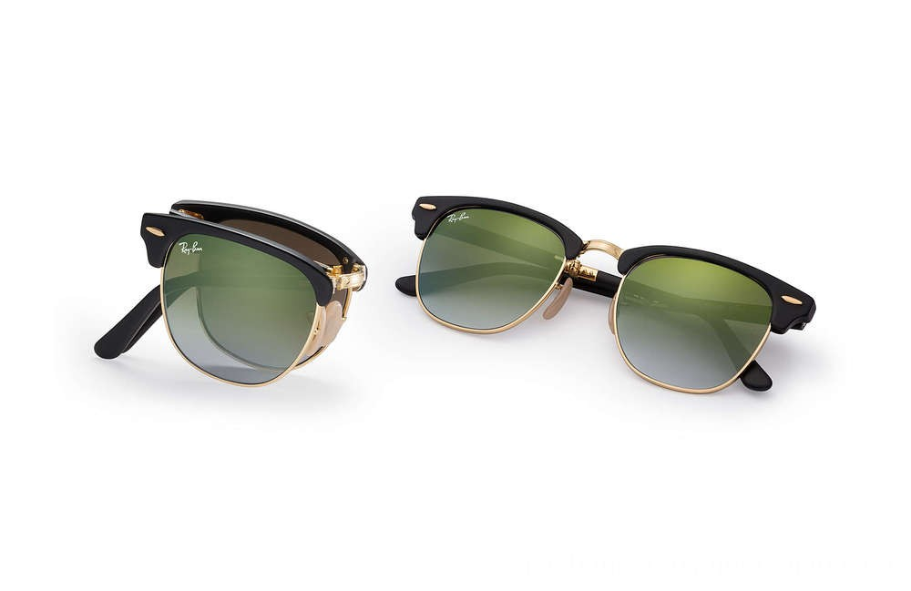 Ray-Ban CLUBMASTER FOLDING FLASH LENSES GRADIENT - RB2176-901S9J-51-21 - Ray Ban Black Friday Deal