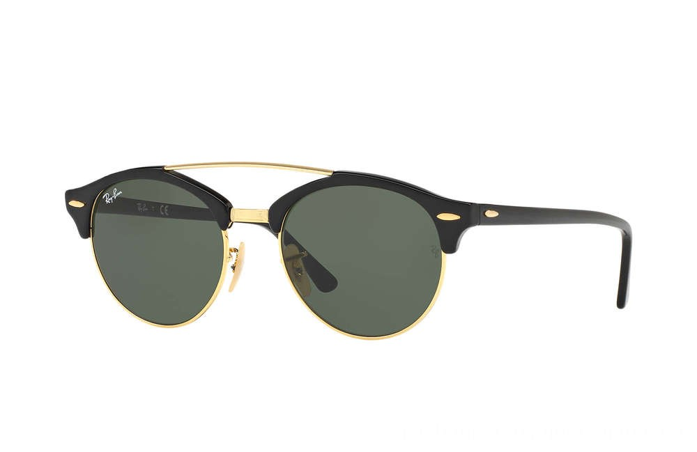 CLUBROUND DOUBLE BRIDGE - RB4346-901-51-19 - Ray Ban Black Friday Deal