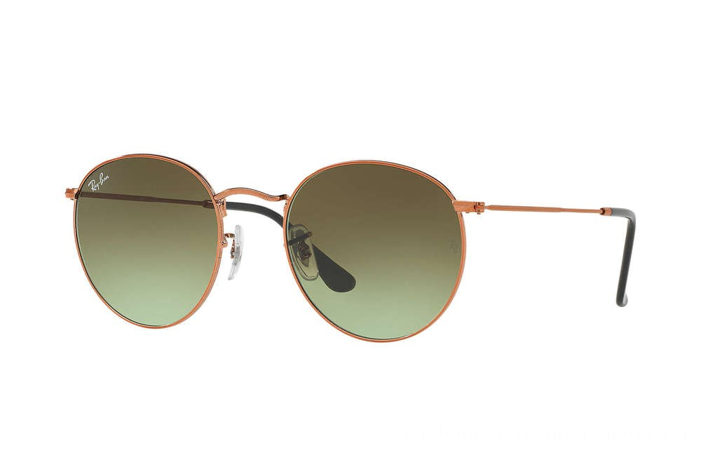 Ray-Ban ROUND METAL - RB3447-9002A6-47-21 - Ray Ban Black Friday Deal