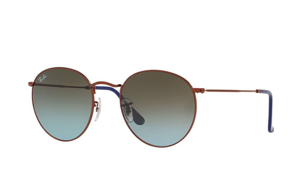 Ray-Ban ROUND METAL - RB3447-900396-47-21 - Ray Ban Black Friday Deal
