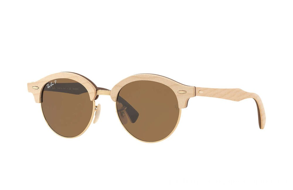 CLUBROUND WOOD - RB4246M-117957-51-19 - Ray Ban Black Friday Deal