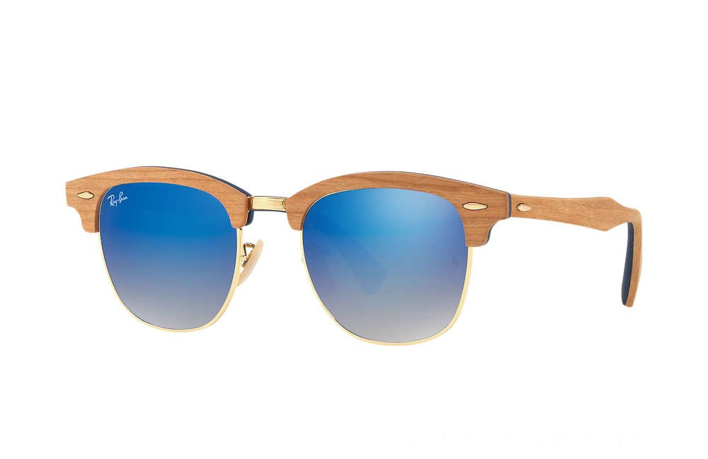 Ray-Ban CLUBMASTER WOOD - RB3016M-11807Q-51-21 - Ray Ban Black Friday Deal