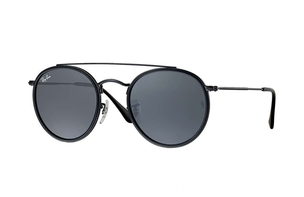 Ray-Ban ROUND DOUBLE BRIDGE - RB3647N-002-R5-51-22 - Ray Ban Black Friday Deal