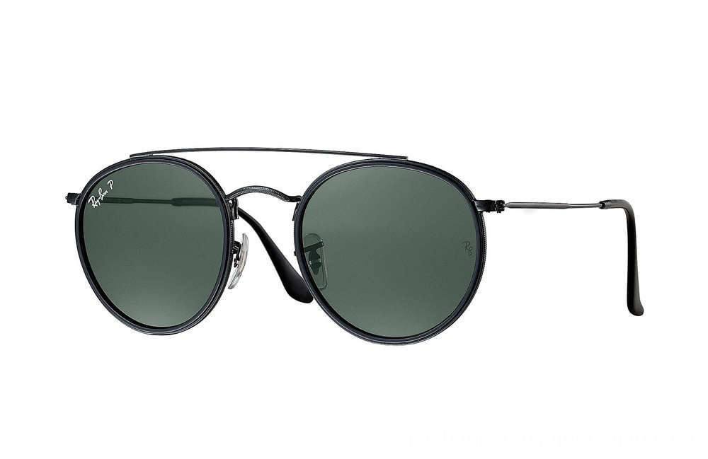 Ray-Ban ROUND DOUBLE BRIDGE - RB3647N-002-58-51-22 - Ray Ban Black Friday Deal