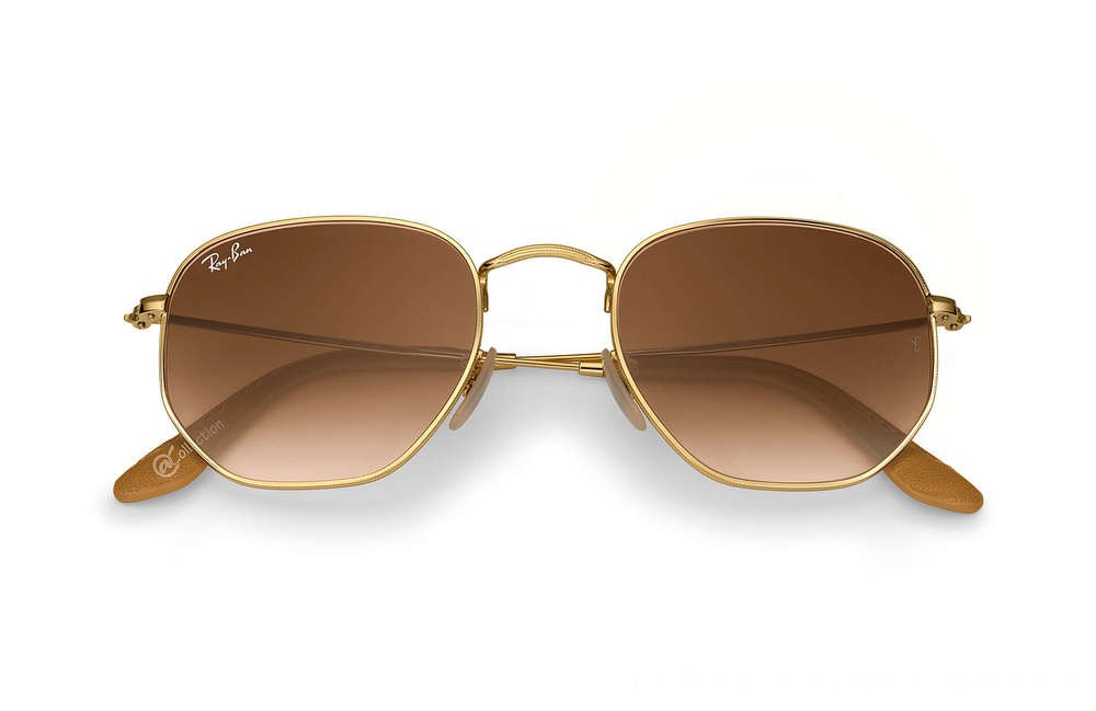 Ray-Ban HEXAGONAL Collection - RB3548N-001-51-51-21 - Ray Ban Black Friday Deal