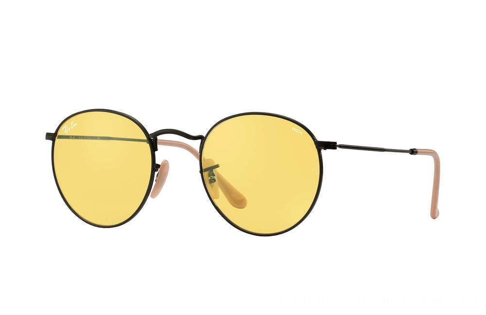 Ray-Ban ROUND EVOLVE - RB3447-90664A-53-21 - Ray Ban Black Friday Deal