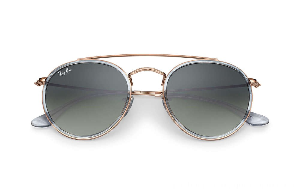 Ray-Ban ROUND DOUBLE BRIDGE - RB3647N-906771-51-22 - Ray Ban Black Friday Deal