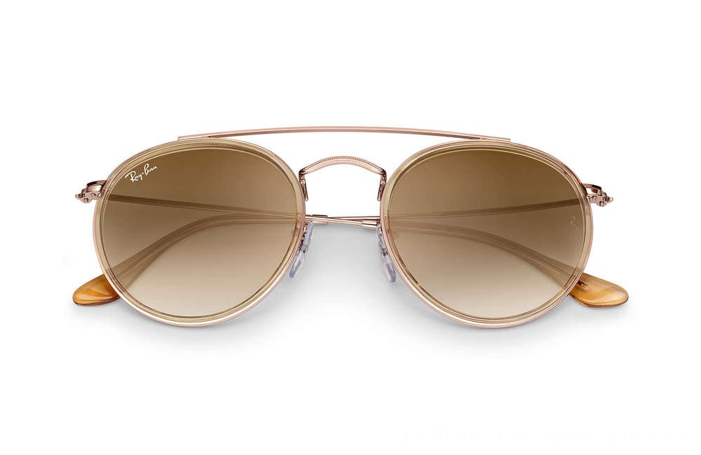 Ray-Ban ROUND DOUBLE BRIDGE - RB3647N-907051-51-22 - Ray Ban Black Friday Deal