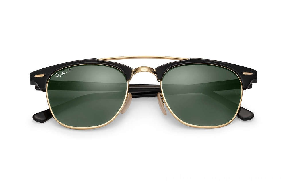 Ray-Ban CLUBMASTER DOUBLE BRIDGE - RB3816-901-58-51-21 - Ray Ban Black Friday Deal