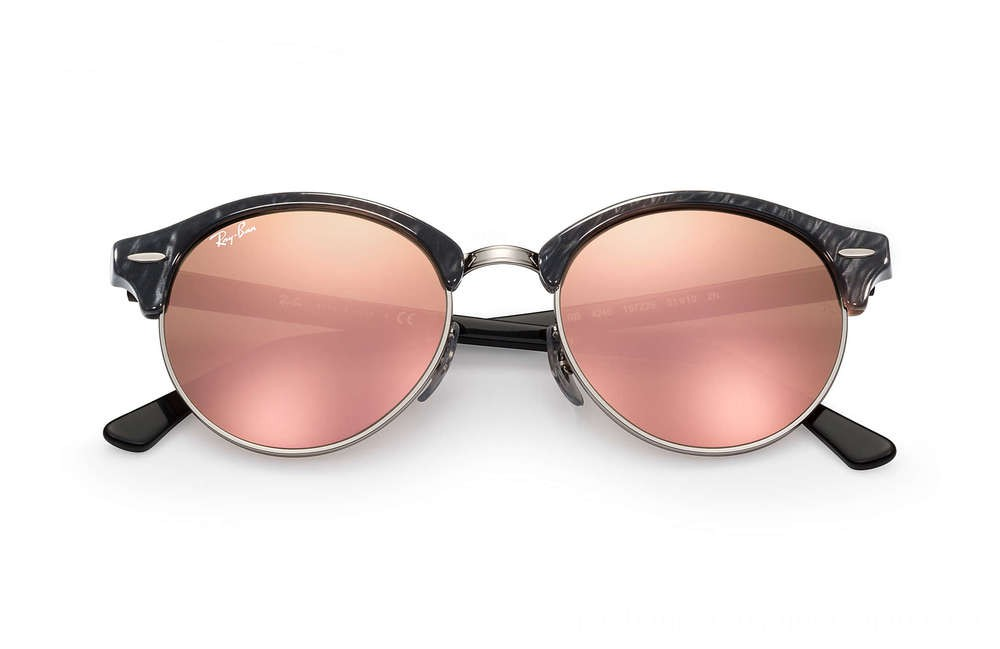 CLUBROUND FLASH LENSES - RB4246-197Z2E-51-19 - Ray Ban Black Friday Deal