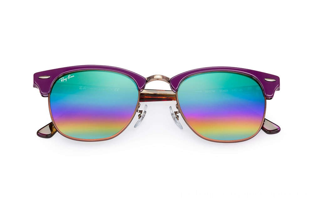 Ray-Ban CLUBMASTER MINERAL FLASH LENSES - RB3016-221C3E-51-21 - Ray Ban Black Friday Deal