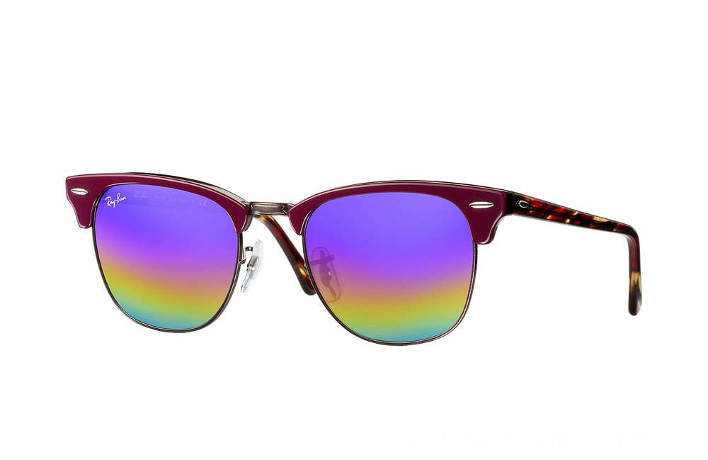 Ray-Ban CLUBMASTER MINERAL FLASH LENSES - RB3016-222C2E-49-21 - Ray Ban Black Friday Deal