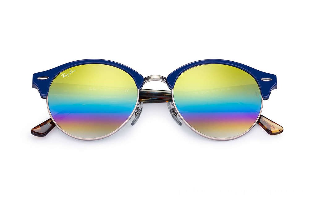 CLUBROUND MINERAL FLASH LENSES - RB4246-223C4E-51-19 - Ray Ban Black Friday Deal