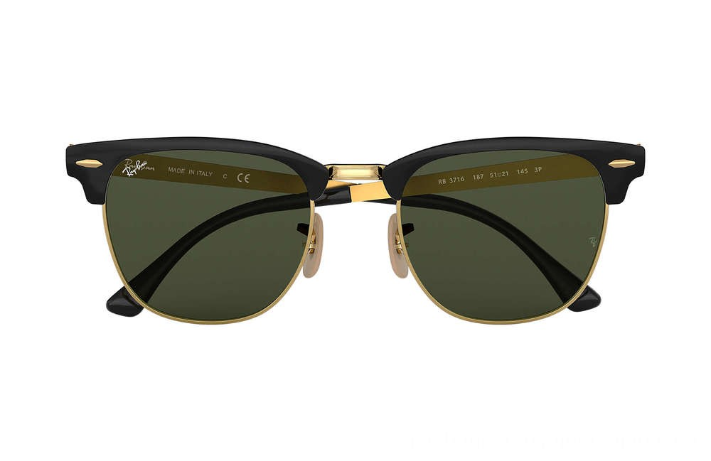 Ray-Ban CLUBMASTER METAL - RB3716-187-51-21 - Ray Ban Black Friday Deal