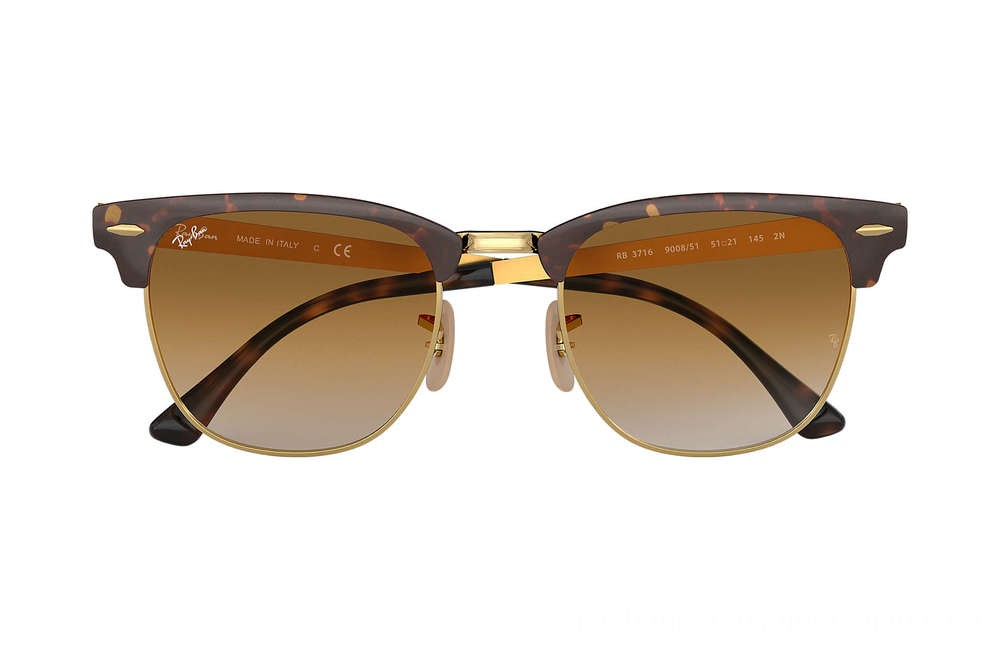Ray-Ban CLUBMASTER METAL - RB3716-900851-51-21 - Ray Ban Black Friday Deal
